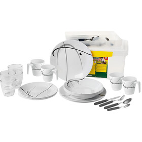 Brunner All Inclusive Dishes Set 36 Pieces, blanco